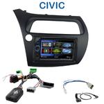 Autoradio 2-DIN Clarion Honda Civic 5 portes de 2006 à 2011 - VX404E