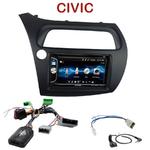 Autoradio 2-DIN Alpine Honda Civic 5 portes de 2006 à 2011 - CDE-W296BT, IVE-W560BT OU IVE-W585BT AU CHOIX
