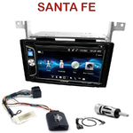 Autoradio 2-DIN Alpine Hyundai Santa Fe de 2007 à 2012 - CDE-W296BT, IVE-W560BT OU IVE-W585BT AU CHOIX