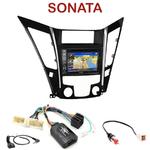 Pack autoradio GPS Hyundai Sonata depuis 2011 - INE-W990HDMI, INE-W710D, INE-W987D ou ILX-702D au choix