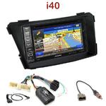 Pack autoradio GPS Hyundai i40 depuis 06/2011 - INE-W990HDMI, INE-W710D, INE-W987D ou ILX-702D au choix