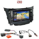 Pack autoradio GPS Hyundai i30 depuis 03/2012 - INE-W990HDMI, INE-W710D, INE-W987D ou ILX-702D au choix