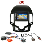 Pack autoradio GPS Hyundai i30 (clim. automatique) de 07/2007 à 02/2012 - INE-W990HDMI, INE-W710D, INE-W987D ou ILX-702D au choix