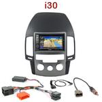 Pack autoradio GPS Hyundai i30 (clim. manuelle) de 07/2007 à 02/2012 - INE-W990HDMI, INE-W710D, INE-W987D ou ILX-702D au choix