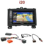 Pack autoradio GPS Hyundai i20 depuis 2008 - INE-W990HDMI, INE-W710D, INE-W987D ou ILX-702D au choix