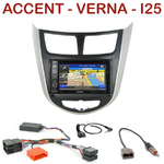 Pack autoradio GPS Hyundai Accent depuis 2012 - INE-W990HDMI, INE-W710D, INE-W987D ou ILX-702D au choix