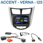 Autoradio 2-DIN Clarion Hyundai Accent depuis 2012 - VX404E
