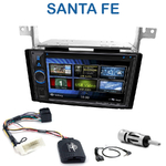 Autoradio 2-DIN Clarion Hyundai Santa Fe de 2007 à 2012 - VX404E
