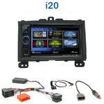 Autoradio 2-DIN Clarion Hyundai i20 depuis 2008 - VX404E
