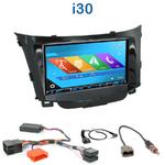 Autoradio 2-DIN GPS NX302E, NX405E, NX505E ou NX706E Hyundai i30 depuis 03/2012