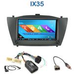 Autoradio 2-DIN GPS NX302E, NX405E, NX505E ou NX706E Hyundai IX35 de 2010 à 2013
