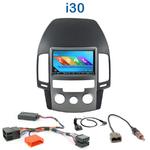 Autoradio 2-DIN GPS NX302E, NX405E, NX505E ou NX706E Hyundai i30 de 2007 à 2012 - climatisation manuelle