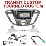 Pack autoradio GPS Ford Tourneo Custom & Transit Custom depuis 11/2012 - INE-W990HDMI, INE-W710D, INE-W987D ou ILX-702D au choix