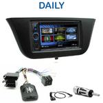 Autoradio 2-DIN Clarion Iveco Daily depuis 2014 - VX404E