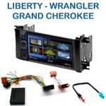 Autoradio 2-DIN Clarion Jeep Commander, Grand Cherokee, Liberty & Wrangler - VX404E