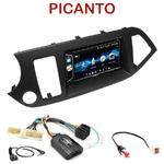 Autoradio 2-DIN Alpine Kia Picanto depuis 05/2011 - CDE-W296BT, IVE-W560BT OU IVE-W585BT AU CHOIX
