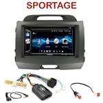 Autoradio 2-DIN Alpine Kia Sportage de 08/2010 à 2014 - CDE-W296BT, IVE-W560BT OU IVE-W585BT AU CHOIX