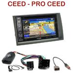 Autoradio GPS Kia Ceed de 2006 à 2009 - INE-W990HDMI, INE-W710D, INE-W987D ou ILX-702D au choix