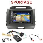 Pack autoradio GPS Kia Sportage de 08/2010 à 2014 - INE-W990HDMI, INE-W710D, INE-W987D ou ILX-702D au choix