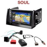 Pack autoradio GPS Kia Soul de 11/2008 à 2010 - INE-W990HDMI, INE-W710D, INE-W987D ou ILX-702D au choix