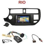 Pack autoradio GPS Kia Rio de 09/2011 à 2014 - INE-W990HDMI, INE-W710D, INE-W987D ou ILX-702D au choix