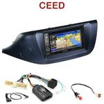 Pack autoradio GPS Kia Cee'd depuis 04/2012 - INE-W990HDMI, INE-W710D, INE-W987D ou ILX-702D au choix