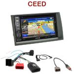 Pack autoradio GPS Kia Cee'd de 2009 à 04/2012 - INE-W990HDMI, INE-W710D, INE-W987D ou ILX-702D au choix