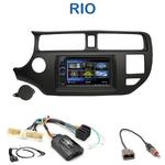 Autoradio 2-DIN Clarion Kia Rio de 09/2011 à 2014 - VX404E