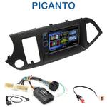 Autoradio 2-DIN Clarion Kia Picanto depuis 05/2011 - VX404E