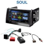 Autoradio 2-DIN Clarion Kia Soul de 11/2008 à 2010 - VX404E