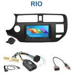 Autoradio 2-DIN GPS NX302E, NX405E, NX505E ou NX706E Kia Rio de 2011 à 2014