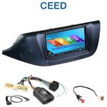 Autoradio 2-DIN GPS NX302E, NX405E, NX505E ou NX706E Kia Ceed depuis 2012