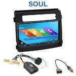Autoradio 2-DIN GPS NX302E, NX405E, NX505E ou NX706E Kia Soul depuis 2012
