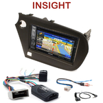 Pack autoradio GPS Honda Insight depuis 2010 - INE-W990HDMI, INE-W710D, INE-W987D ou ILX-702D au choix