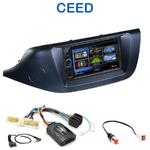 Autoradio 2-DIN Clarion Kia Cee'd depuis 04/2012 - VX404E