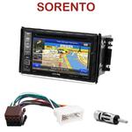 Autoradio GPS Kia Sorento de 2006 à 2009 - INE-W990HDMI, INE-W710D, INE-W987D ou ILX-702D au choix