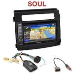 Pack autoradio GPS Kia Soul de 2012 à 2014 - INE-W990HDMI, INE-W710D, INE-W987D ou ILX-702D au choix