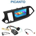 Autoradio 2-DIN GPS NX302E, NX405E, NX505E ou NX706E Kia Picanto depuis 05/2011