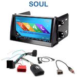 Autoradio 2-DIN GPS NX302E, NX405E, NX505E ou NX706E Kia Soul de 11/2008 à 2010