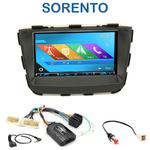 Autoradio 2-DIN GPS NX302E, NX405E, NX505E ou NX706E Kia Sorento depuis 2012