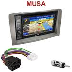 Pack autoradio GPS Lancia Musa depuis 2005 - INE-W990HDMI, INE-W710D, INE-W987D ou ILX-702D au choix