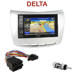 Pack autoradio GPS Lancia Delta depuis 2009 - INE-W990HDMI, INE-W710D, INE-W987D ou ILX-702D au choix