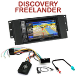 Autoradio GPS Land Rover Freelander Discovery et Range Rover - INE-W990HDMI, INE-W710D, INE-W987D ou ILX-702D au choix
