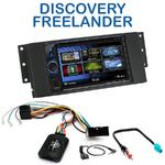 Autoradio 2-DIN Clarion Land Rover Discovery, Freelander & Range Rover - VX404E