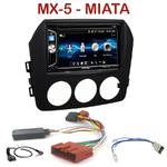 Autoradio 2-DIN Alpine Mazda MX-5 et Miata 6 depuis 2006 - CDE-W296BT, IVE-W560BT OU IVE-W585BT AU CHOIX