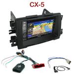 Autoradio GPS Mazda CX-5 depuis 2012 - INE-W990HDMI, INE-W710D, INE-W987D ou ILX-702D au choix