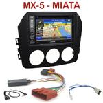 Pack autoradio GPS Mazda MX-5 et Miata 6 - INE-W990BT, INE-W997D ou ILX-700 au choix