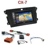 Pack autoradio GPS Mazda CX7 depuis 2007 - INE-W990BT, INE-W997D ou ILX-700 au choix