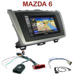 Pack autoradio GPS Mazda 6 de 2008 à 2012 - INE-W990BT, INE-W997D ou ILX-700 au choix