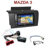 Pack autoradio GPS Mazda 3 de 2003 à 2007 - INE-W990BT, INE-W997D ou ILX-700 au choix